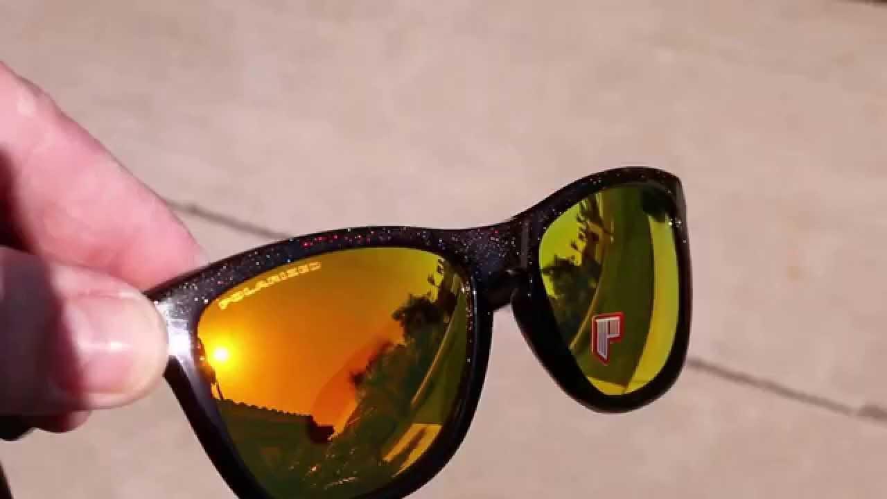 9af2782295 Oakley Frogskins Custom House of Kolor Metalflake - YouTube