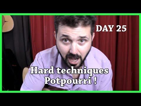 Day 25 - Hard techniques Potpourri on a Django Reinhardt song  - Classical Fingerstyle Guitar