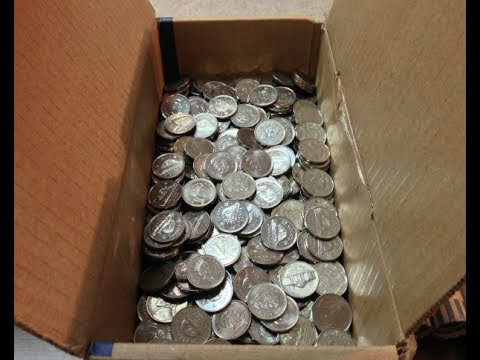 Coin Roll Hunting Nickel Box 49 82 Year Old Coin Found Youtube