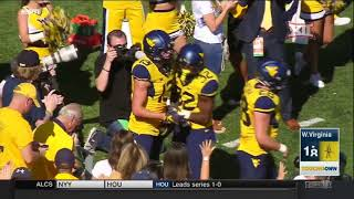 Texas tech at west virginia football highlights