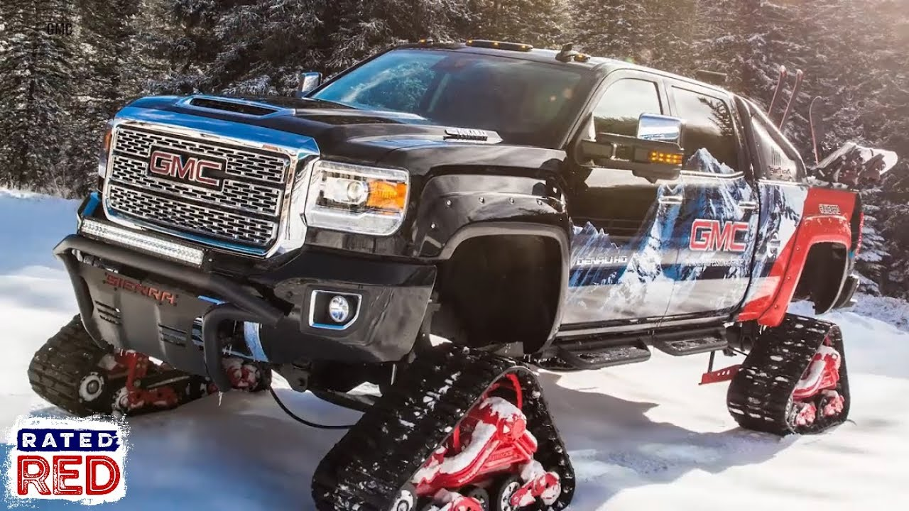 Ride Of The Week 2018 Gmc Sierra 2500hd All Mountain Concept Youtube