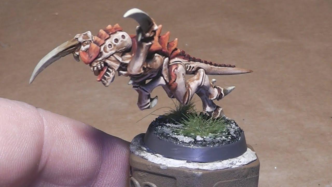 How To Paint A Tyranid Hormagaunt Hive Fleet Kraken