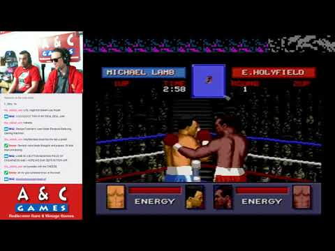Let's Try Evander Holyfield's Real Deal Boxing (Genesis) with DTysonator & Stamatis