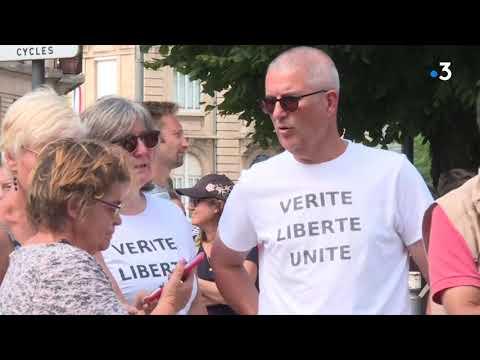 Des manifestations contre le pass sanitaire se sont déroulées dans le calme à Belfort et à Besançon