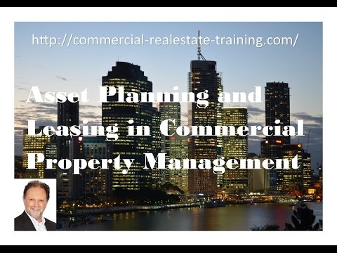 Asset Planning in Commercial Property Management