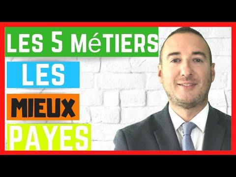 LES 5 METIERS LES MIEUX PAYES APRES UNE ECOLE DE COMMERCE