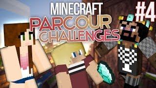 ROY RAGED! Minecraft: Parkour Challenges ft. AllTheseGamez! #4