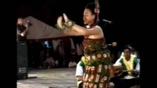 Tau'olunga Heilala Jr Competition 2008 Winner - Felicia Christiana Omani