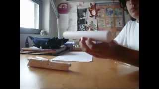 Paper desert eagle tutorial part 1 of 2