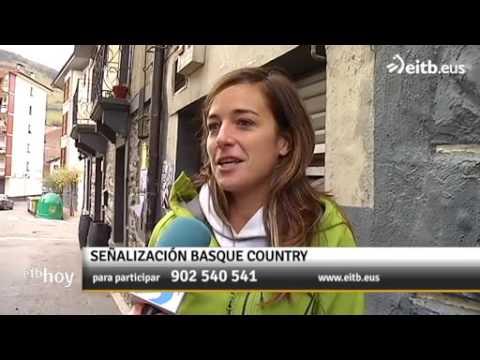 """El rótulo """"Euskal Herria. Basque Country"""" enciende la polémica"""