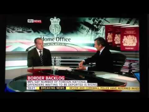 Immigration Barrister on Sky News