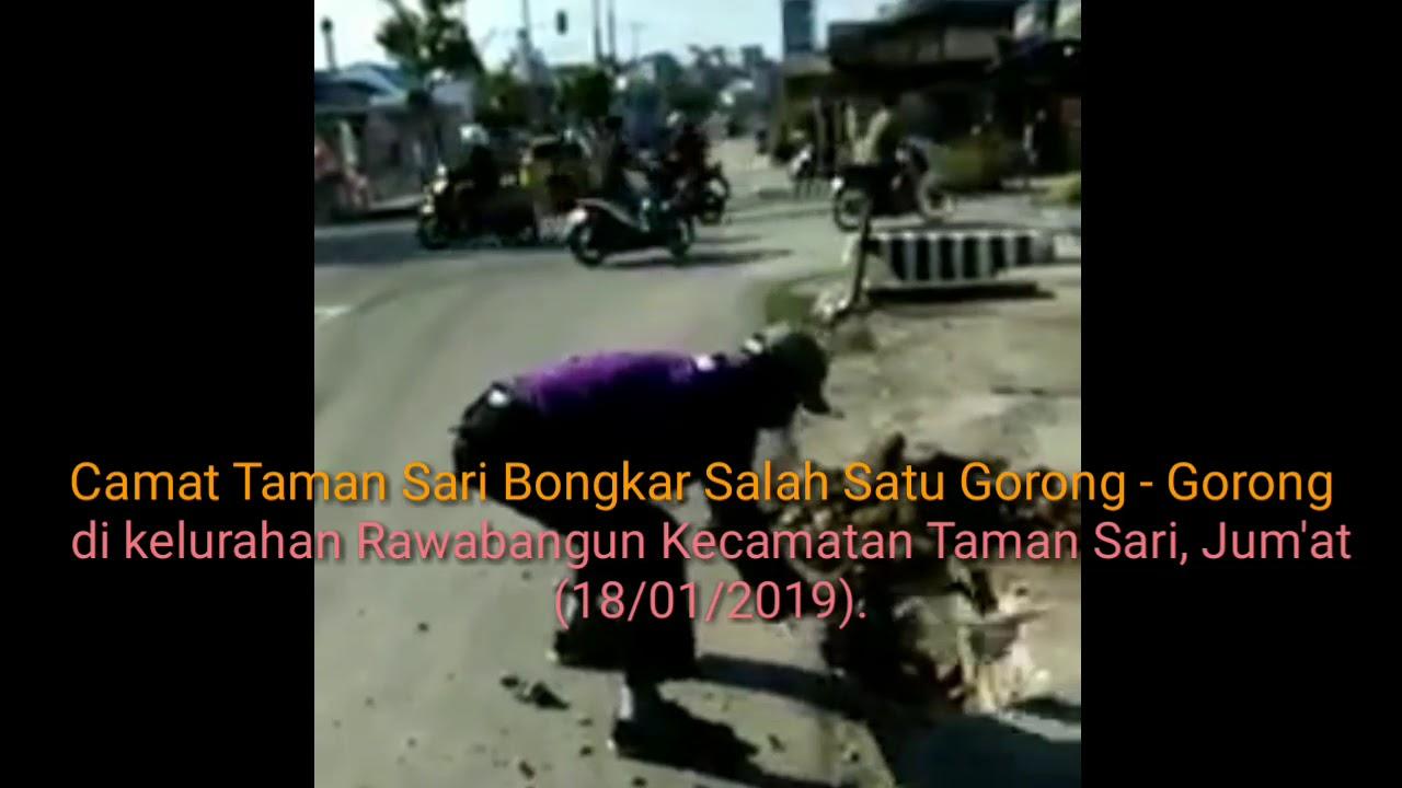 Camat Taman Sari Bongkar Salah Satu Flatdekker Di Rawabangun