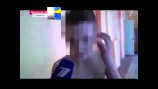 Украина события сегодня В Славянске стреляли по ребенку