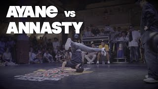 【QUARTER FINAL】AYANE vs Annasty │ Red Bull BC One Cypher Japan 2019 │ FEworks
