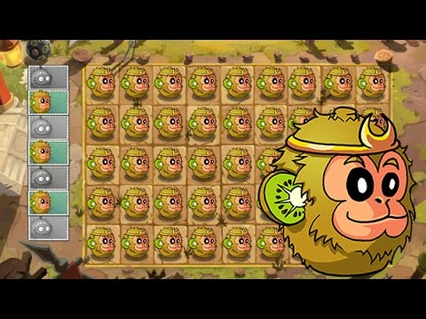 Plants Vs Zombies 2 Una Multitud de Frutas de Kiwi Destrozan a los Zombies