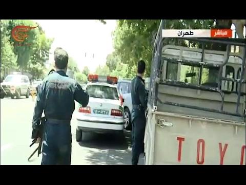 كاميرا الميادين ترصد تبادل إطلاق النار في ايران