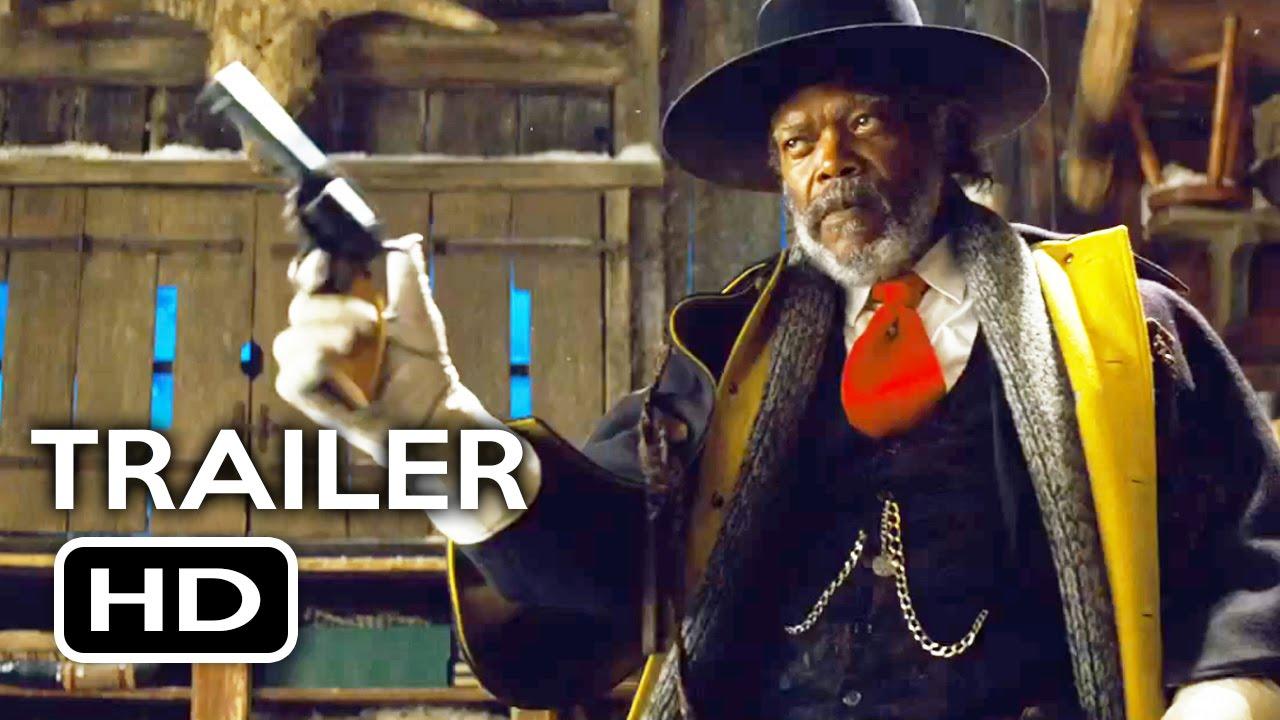 the hateful eight official trailer 2 2016 samuel l