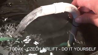 Jet Airlift - Hamburger Mat Filter | DIY | Tschechischer Luftheber