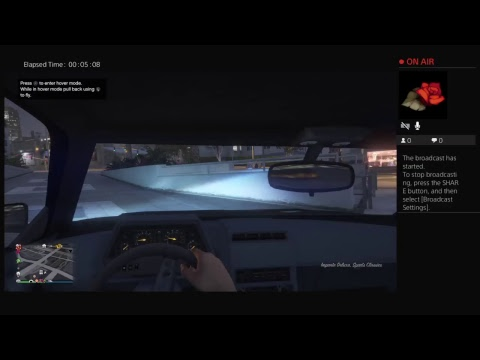 Il-Comex-II's Live PS4 Broadcast playing gta online part 15 on tiny hdtv