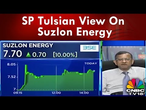 SP Tulsian View On Suzlon Energy, Monsanto & Kaveri Seeds | CNBC-TV18