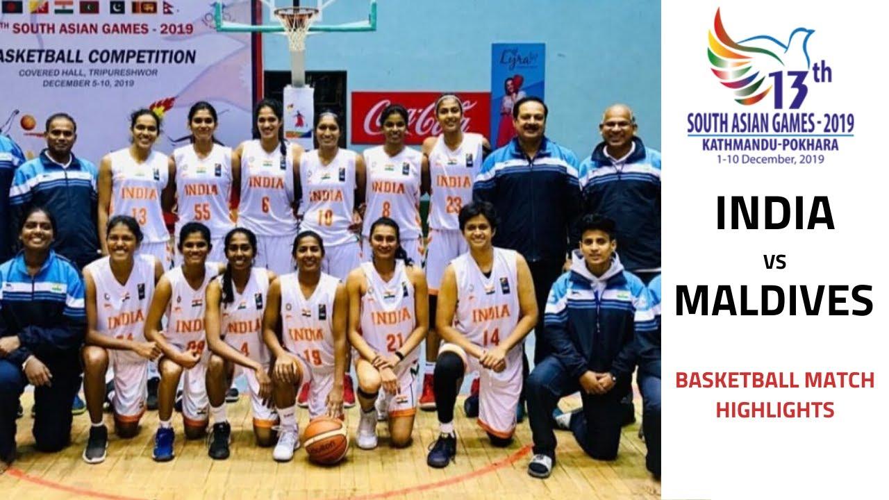 Download India vs Maldives Women's Basketball Match Highlights || South Asian Games 2019 || Indian Basketball