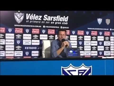 Conferencia de Prensa Christian Bassedas post Vélez vs. Godoy Cruz