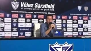 Conferencia de Prensa Christian Bassedas post Vélez vs. Godoy Cruz