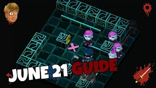 Friday the 13th Killer Puzzle Daily Death June 21 2019 Walkthrough