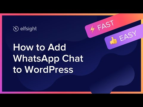How To Add WhatsApp Chat To WordPress Page (2019)