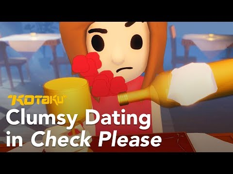 Watch Us Fumble Through A Date In Check Please - 동영상