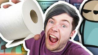 TOILET PAPER TROUBLE!!   Riddle School 2