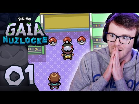 INSANE ROM HACK! • Pokemon Gaia Randomizer Nuzlocke • 01