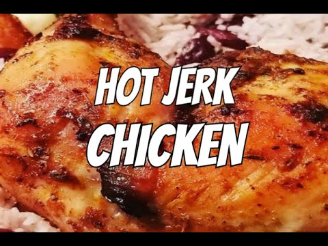 The Best Jamaican Jerk Chicken In The World Recipe By | Chef Ricardo Cooking
