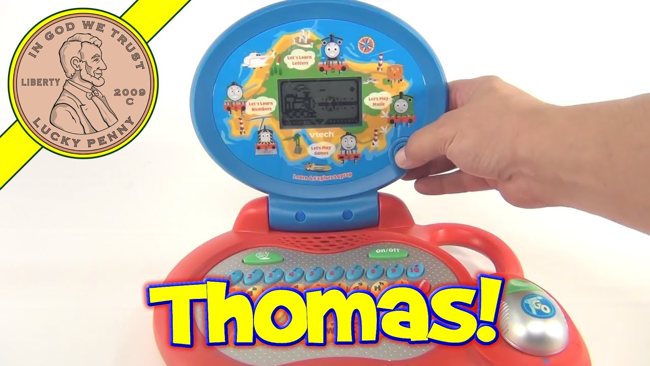 Thomas & Friends Learn and Explore Vtech Toy Laptop puter No