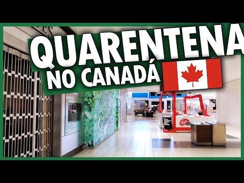 SHOPPING e RUAS no CANADÁ DURANTE A QUARENTENA do CORONAVÍRUS COVID-19 - Vlog Ep.127