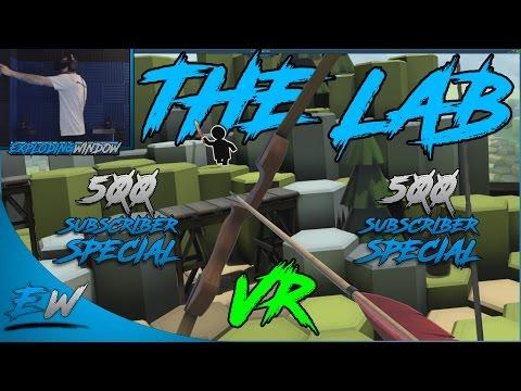 The Lab VR: 500 SUBSCRIBER SPECIAL! (Razer Hydra+Rift)