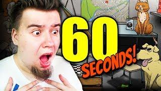 PIES I KOT JEDNOCZEŚNIE? CO SIĘ STANIE? (60 Seconds #34)