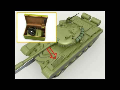 Т-72 ТВН-5 Прибор ночного видения для механика танка