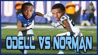 WHO'S BETTER? ODELL BECKHAM JR OR JOSH NORMAN? - User Skills Challenge Ep.1 thumbnail
