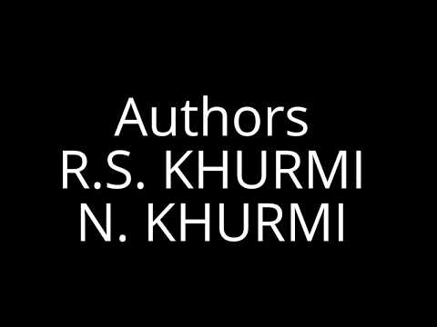 KHURMI - Best Selling Books for Engineering Courses and Competitive Exams.