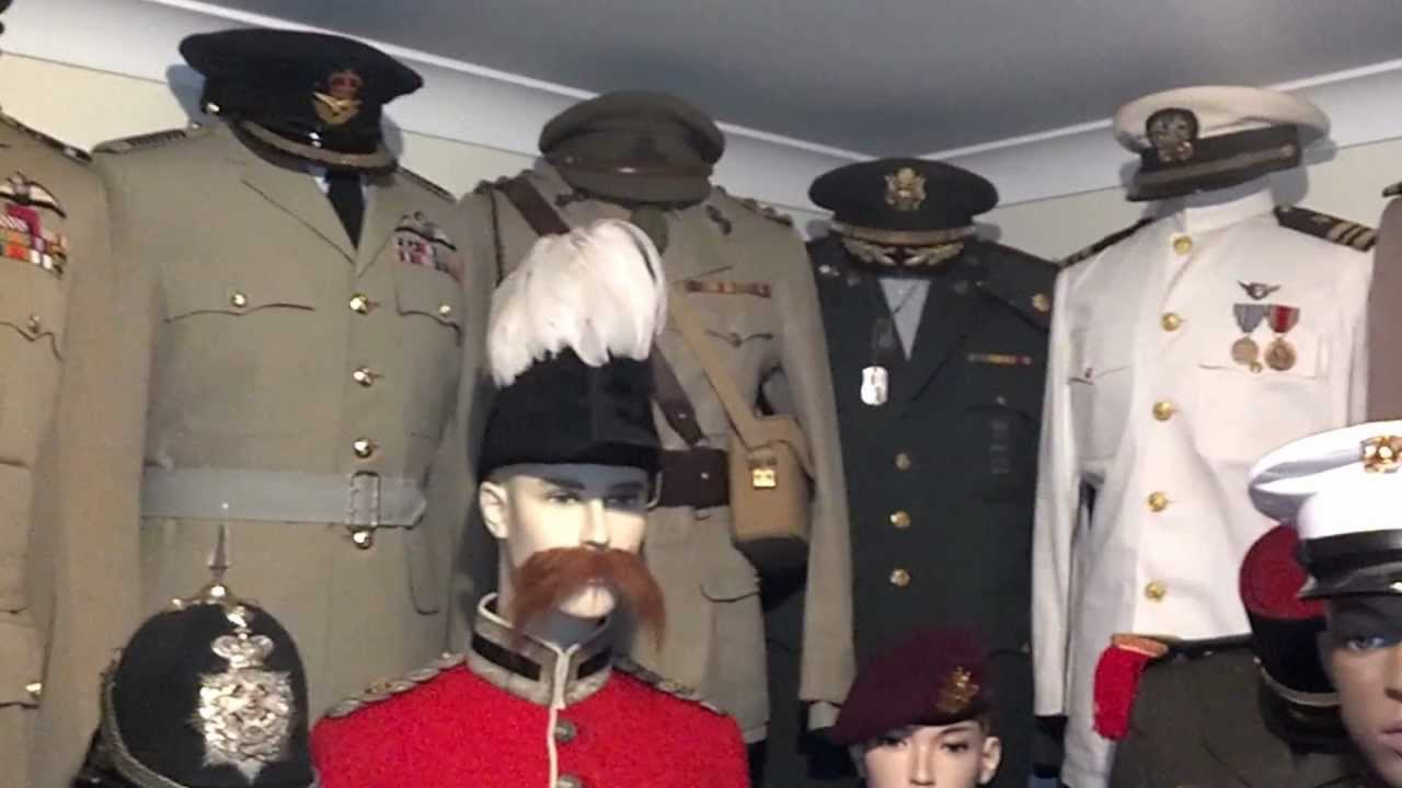 Ww2 Military Uniform Collection Youtube
