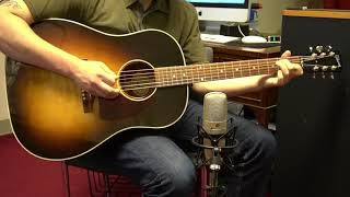 Gibson J-45 Standard (2019) Acoustic Guitar Demo