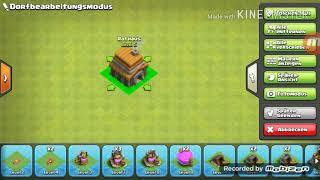 Lets Play Clash of clans gute rathaus 5 base