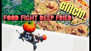 Fortnite Food Fight Deep Fried BORDER GLITCH!