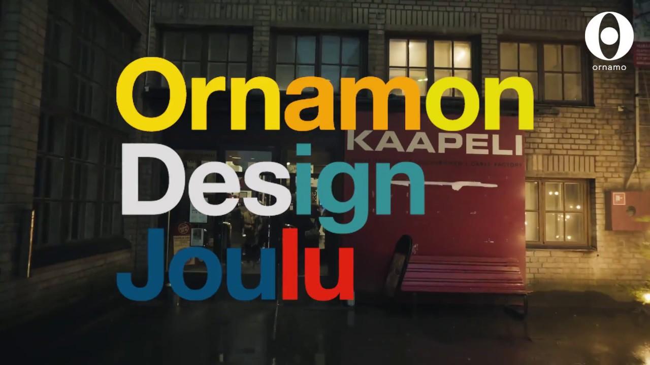 ornamo joulu 2018 Ornamon Design Joulu 2017 Kaapelitehtaalla   YouTube ornamo joulu 2018