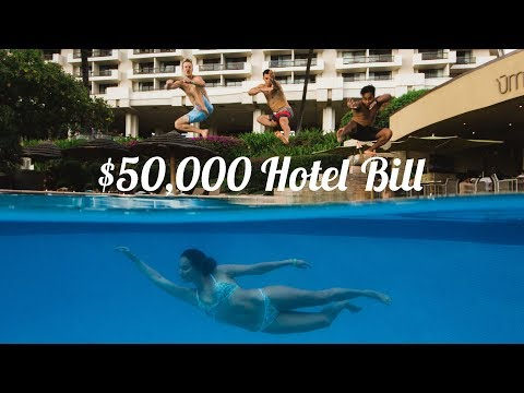 $50,000 Hotel Bill at The Hyatt Regency Maui Resort & Spa