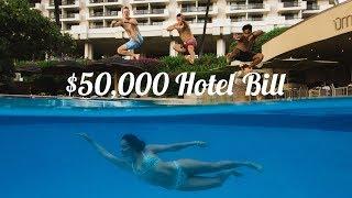$50,000 Hotel Bill at The Hyatt Regency Maui Resort and Spa