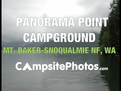 Panorama Point Campground, Mt. Baker-Snoqualmie National Forest, Washington Campsite Photos