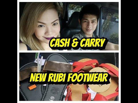 CASH & CARRY|NEW RUBI FOOTWEAR -debbiesantosvlog