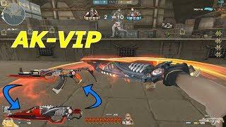 AK47-Red Knife Beast ( VIP ) : Cận Chiến Cực Ngầu - Tiền Zombie v4